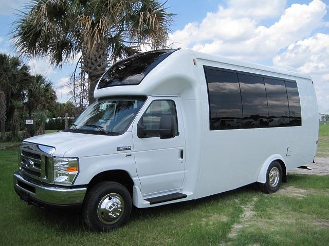 15 passenger executive buses. Black Bedroom Furniture Sets. Home Design Ideas