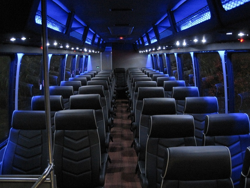 Freightliner M2 Coach Bus with Under Floor Luggage, if