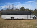 freightliner m2 coach buses with under floor luggage