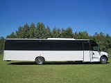 freightliner m2 45 passenger bus with restroom