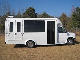 wheelchair lift buses for sale