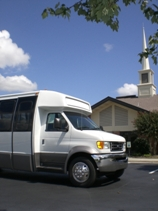 Church Bus image.