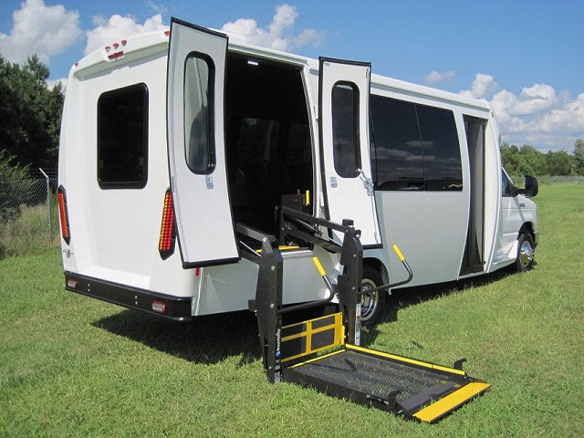 Handicap Buses for Sale,ADA Wheelchair Lift Bus Sales, Paratransit